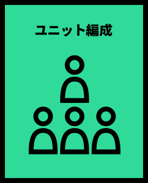ユニット編成